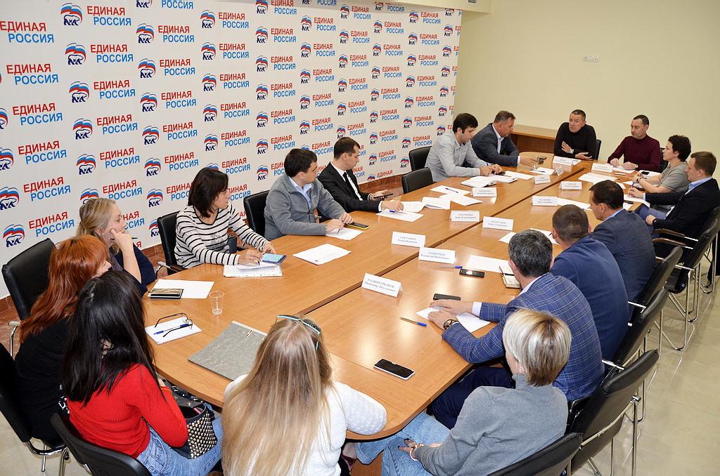 Виктор Тепляков совещание
