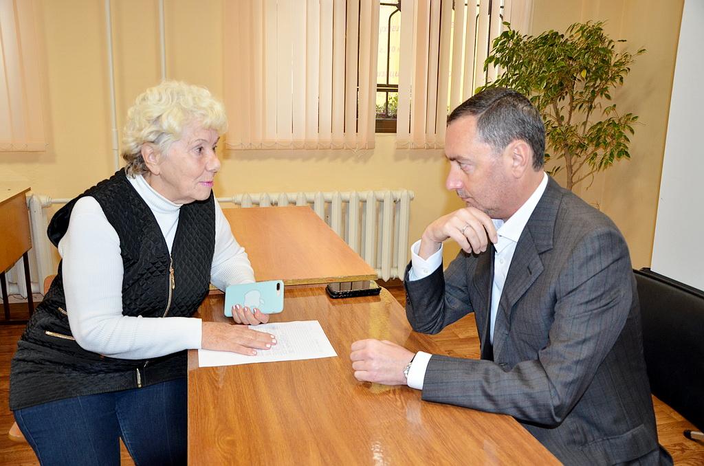 Виктор Тепляков прием граждан