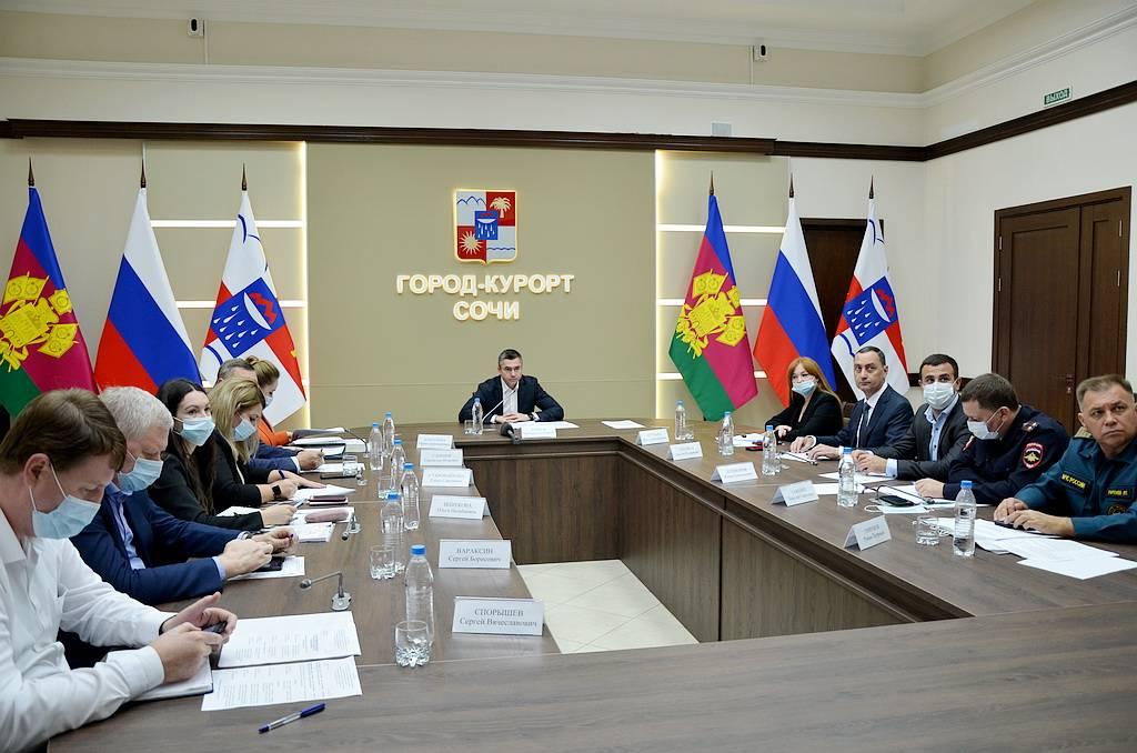 заседание штаба Сочи 2021